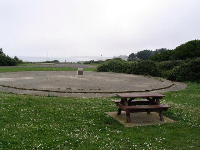 Old radar site at Highcliffe