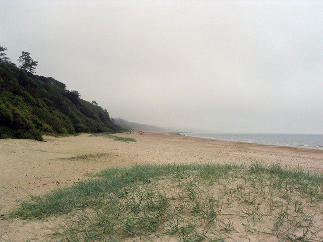 Beach at Highcliffe