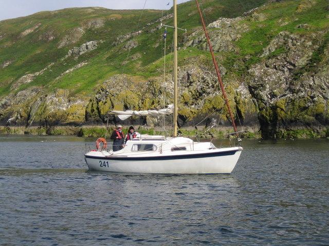 Saltpan Bay, Lambay Island