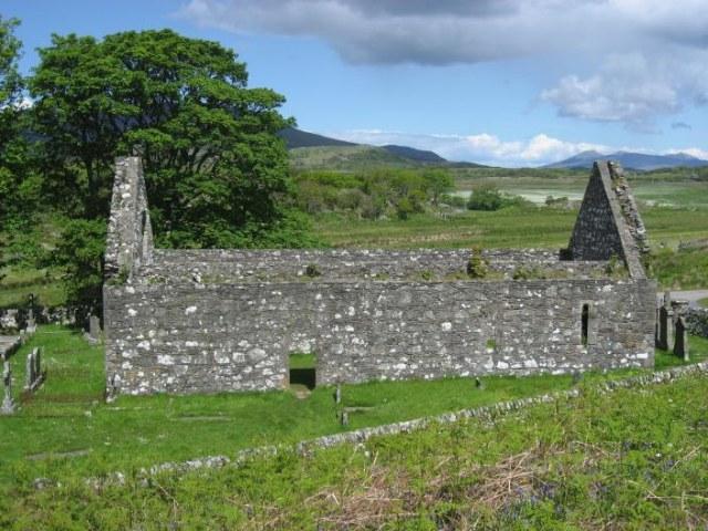 Derelict church at Kildalton