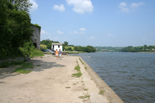 Halton Quay on the River Tamar