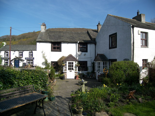 Bassenthwaite Cottages and the Sun Inn