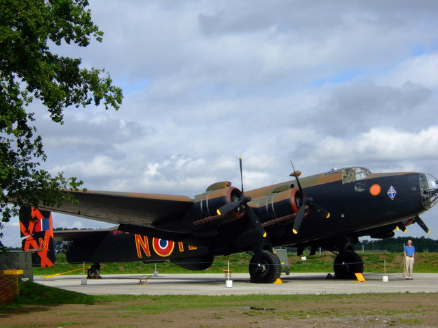 Restored Handley Page Halifax