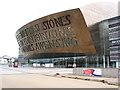 ST1974 : Wales Millennium Centre by Pauline E