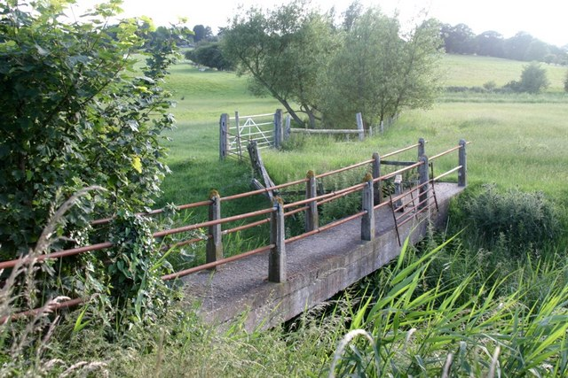 Footbridge Over Newknock Channel