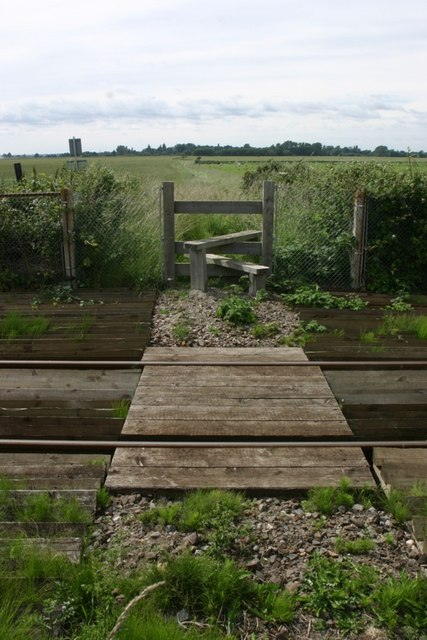 Footpath Crossing Railway Line