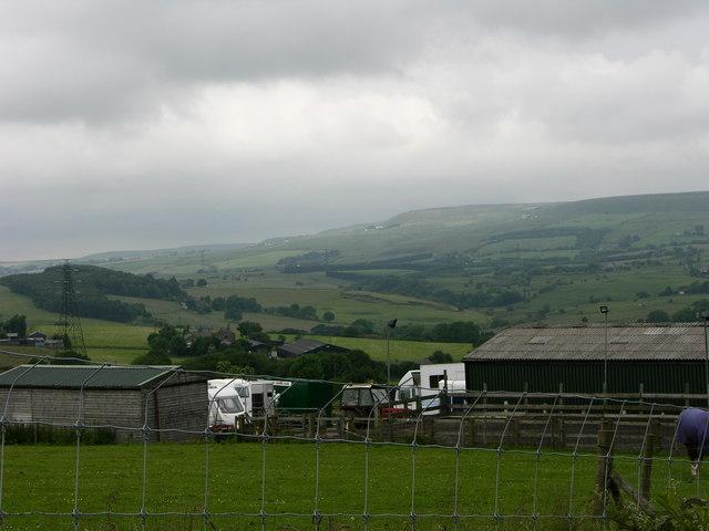 View over Hawkshaw Valley