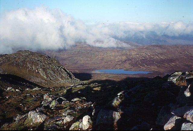Northern summit area, Beinn Teallach