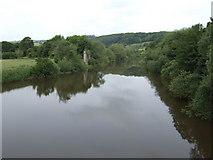 SO2547 : River Wye west of Whitney Bridge by Jonathan Billinger