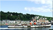 NS0964 : The Waverley enters Rothesay by Thomas Nugent