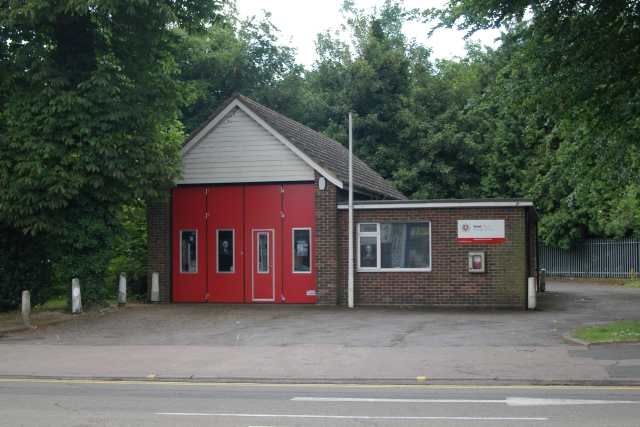 Southborough fire station by Kevin Hale