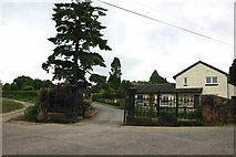 NS3879 : Vale of Leven Cemetery Entrance by George Rankin
