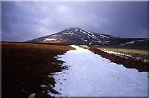 SO2718 : Path to the Sugar Loaf in winter by Trevor Rickard