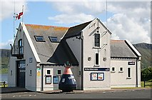 D2427 : Red Bay Lifeboat Station by Anne Burgess
