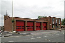 SU5290 : Didcot fire station by Kevin Hale