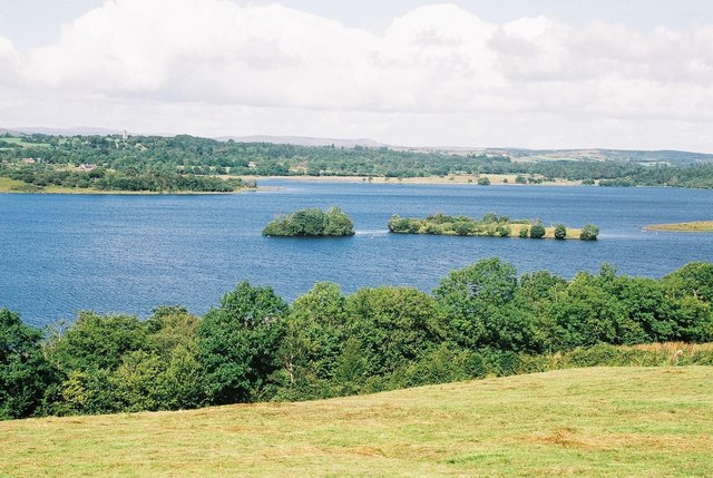 Magnificent view over Lower Lough Erne