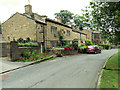 SD9749 : Cottages at Beck Side, Carleton in Craven by David Spencer