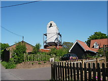 TM4160 : Suffolk's finest wreck - Friston post mill by Bob Paterson