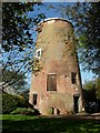 TL7852 : Stansfield tower mill, Suffolk by Bob Paterson