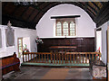 SO5210 : The Old Church Penallt - interior by Roy Parkhouse