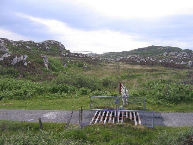 Colonsay Cattle Grid