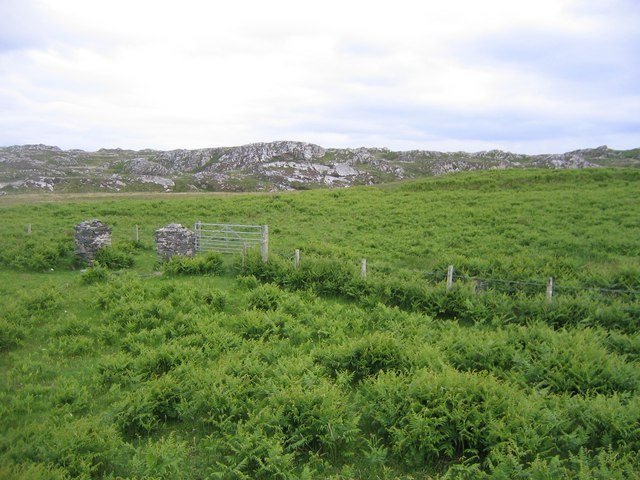 Old Colonsay Gate Posts