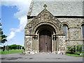 NY1133 : Porch, St Bridget's Church, Bridekirk by Alexander P Kapp