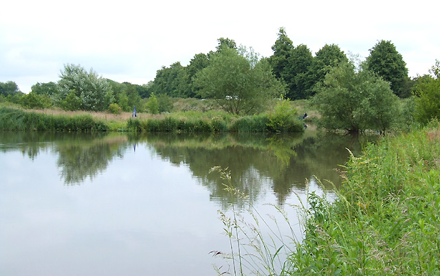Pools for Anglers, near Codsall, Staffordshire