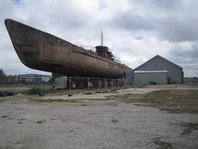 Wallasey: Mortar Mill Quay & U-Boat U534