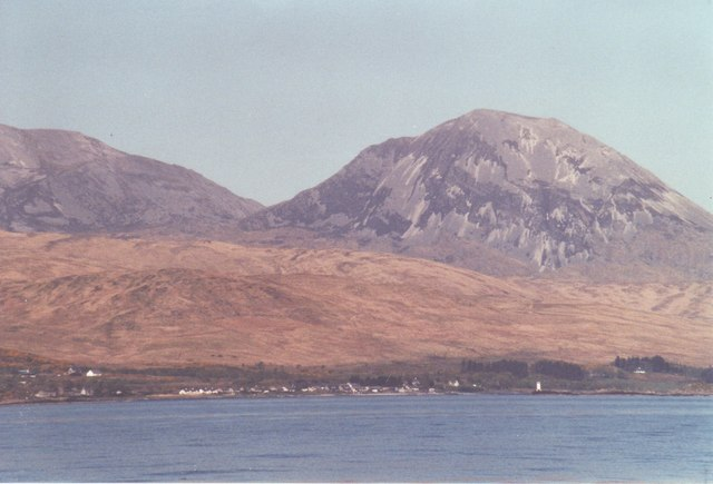 Craighouse from the sea
