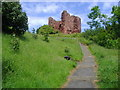NT3497 : Macduff's Castle by Euan Nelson