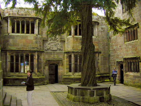 Courtyard at Skipton Castle