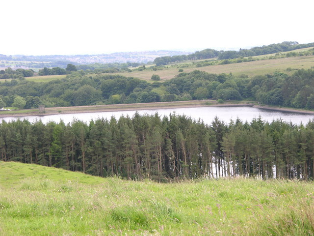 End of Turton and Entwistle Reservoir