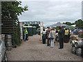 SO6525 : Entrance to the Linton Festival, Alma Inn by Pauline E