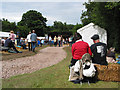 SO6525 : Crowd gathers for the Linton Festival by Pauline E
