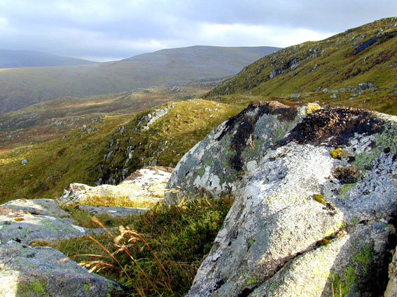 View from Glas Choire