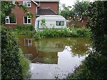 TF3564 : Flooding at Old Bolingbroke by Dave Hitchborne