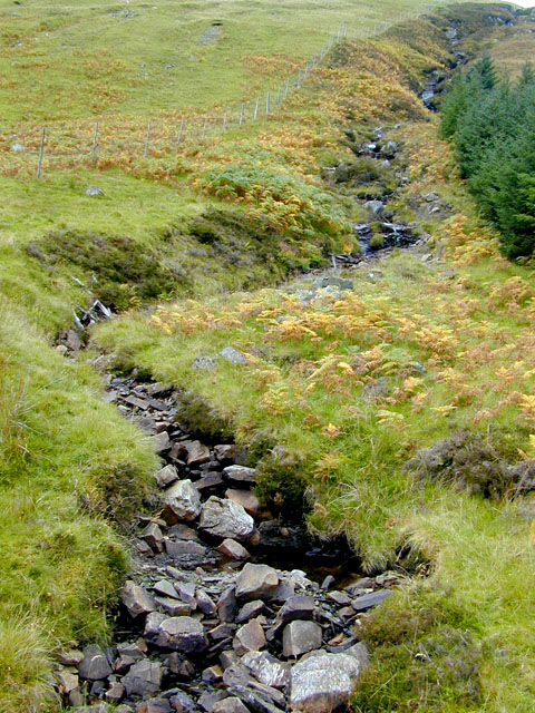 Looking up from Glen Gloy to Beith Og