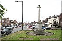 SE3694 : The High Street and War Memorial by Bob Embleton