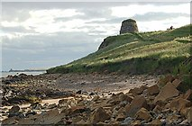 NO5101 : St Monans castle Doocot by Jim Bain