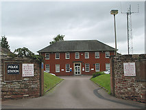 SO5923 : The Police Station, Ross-on-Wye by Pauline E