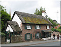 SO5923 : The Old Toll House Cottage by Pauline E