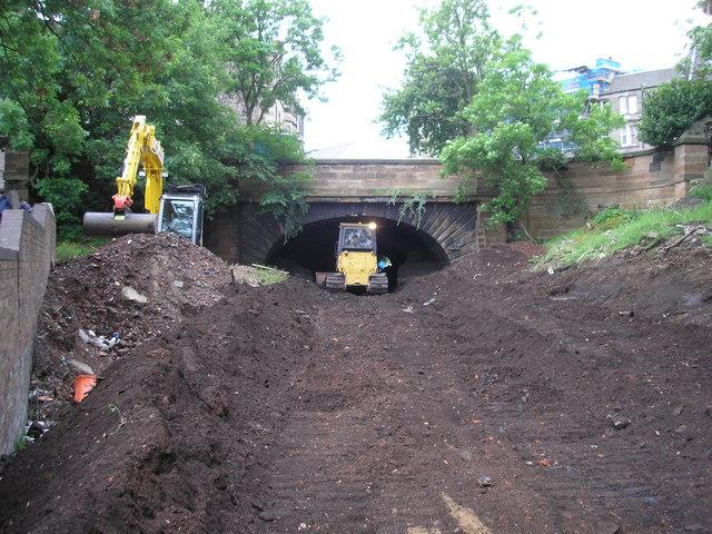 Heriothill Railway Tunnel by Sandy Gemmill