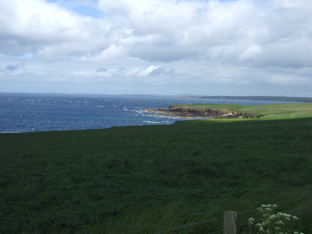 View towards Men of Mey and st John's Point
