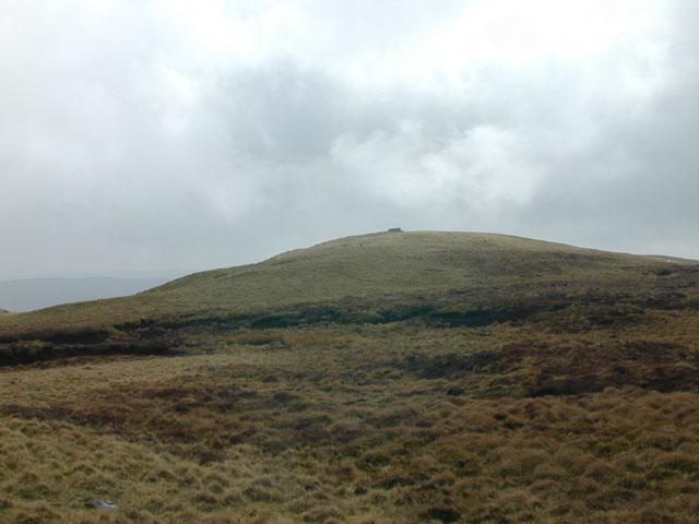 Moorland north east of Llan Ddu Fawr