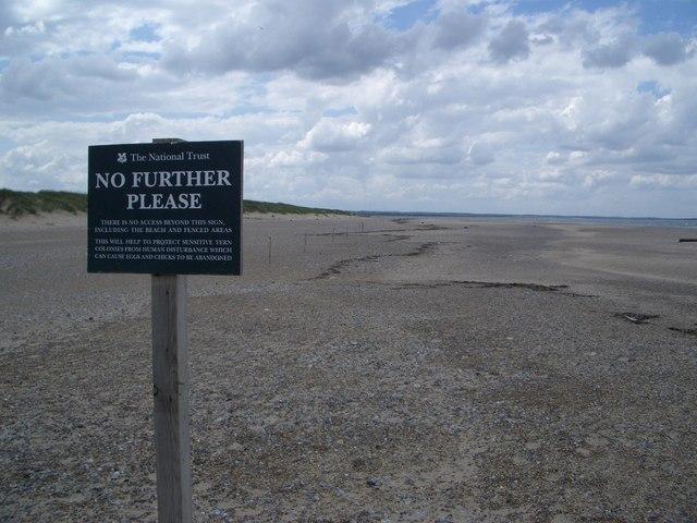 Protected Wildlife Area on Blakeney Point