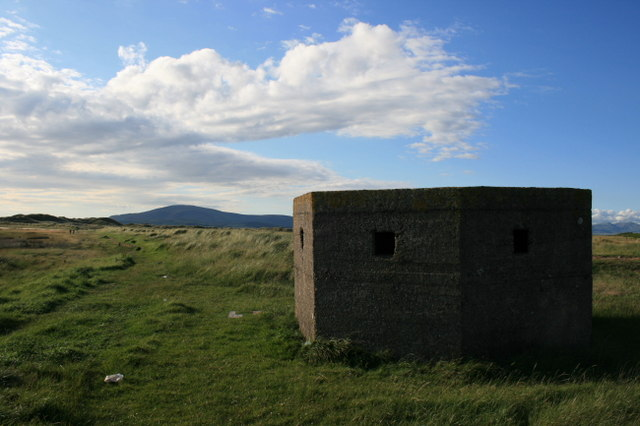 Pill Box at Scarth Bight