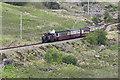 SH6743 : Ffestiniog Railway near Moelwyn Mine by Leonore Kegel