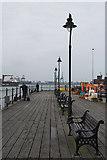 TM2532 : The Halfpenny Pier at Harwich by Leonore Kegel