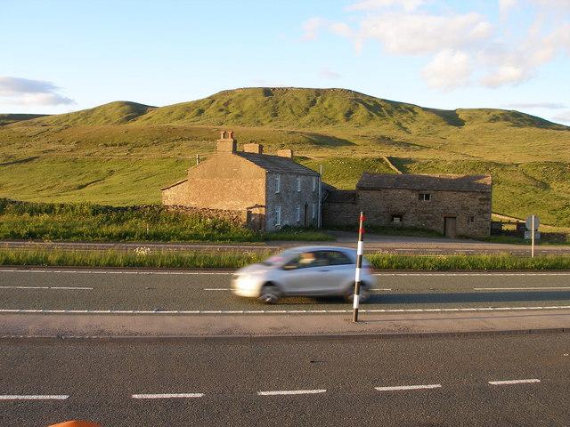 Slapestones, immediately adjoining the A66